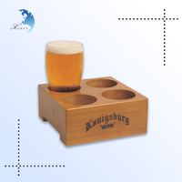 High end store classic design unique handcrafted wood cup rack cup holder