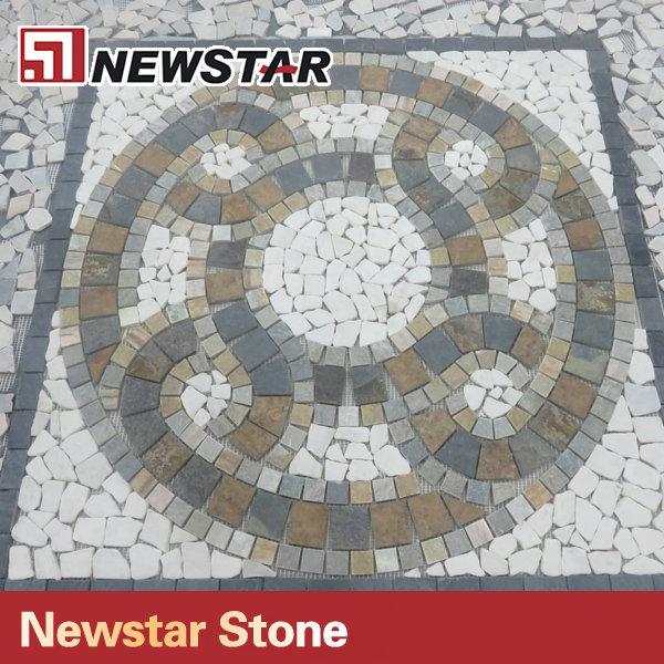 China Mosaic Floor Tile Mosaic Sun Patterns Buy Mosaic