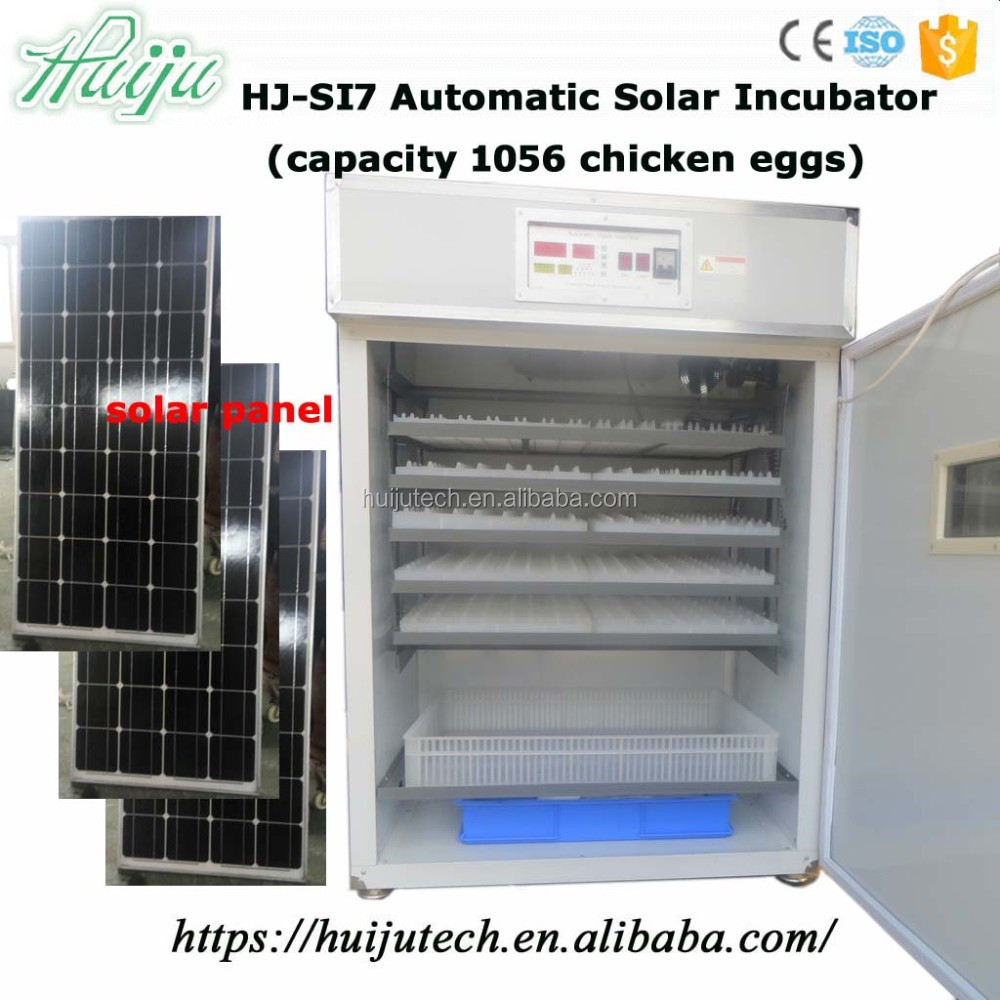 1000 chicken eggs automatic solar incubator for hatching eggs HJ-SI7