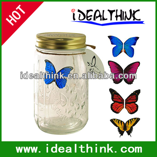 Perfect Butterfly Wedding Gift and Factroy Price Glass Butterfly in a Jar