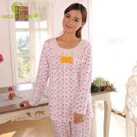 breathable material fashion ladies night sleeping wear