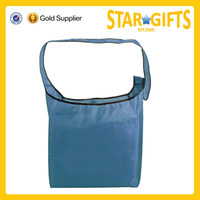 Fashion sling type Cheap 190t Polyester Folding Shopping Bag