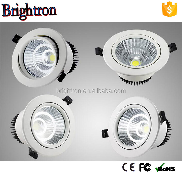Competitive Price High Power Aluminium cob 30watt ip44 led downlight