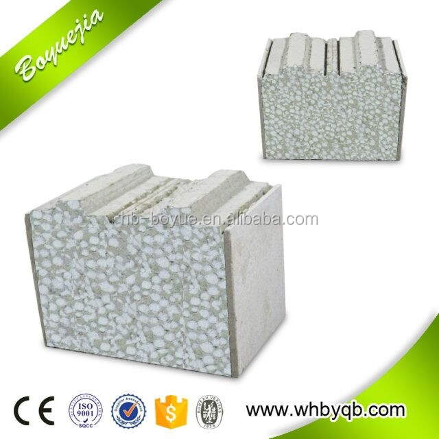 Home decoration type wall panel calcium silicate board