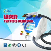Advanced q switched Nd Yag Laser tattoo removal equipment with infrared aiming beam