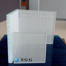 China high quality Safety tempered textured glass factory