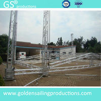 Aluminum truss lifting, aluminum roof truss, lighting truss system