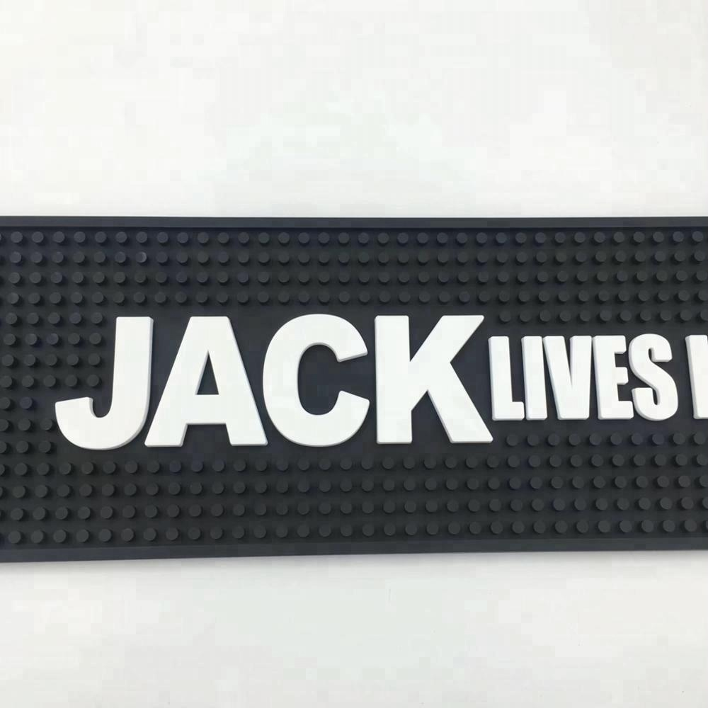 China Suppliers Custom Branded Jack Daniels Bar Drink Mats