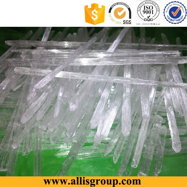 Supply 99% medical garde menthol crystal mint for export