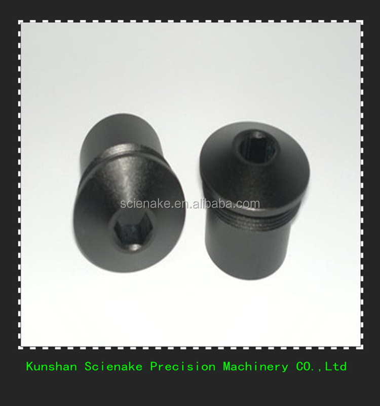 High quality antique pc plastic cnc machining turning parts