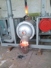 Small DC Electric Arc Furnace for Experiment DC EAF