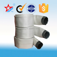 Fire fighting supplies Rubber Covered Fire Hose ,fire fighting used PVC Layflat hose
