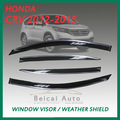 Fit For Hond* CR* CR-* 02 03 04 05 06 2002-2006 LX EX 4D Window Visors Sun Guard