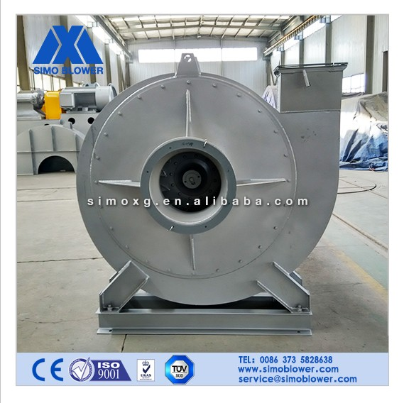 Low noise high rpm casting oven air volume industrial fan