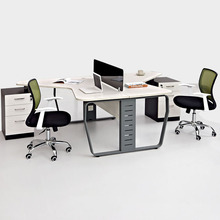 office table executive CEO office desk for 2 people