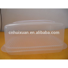 hot selling clear plastic toast bread box