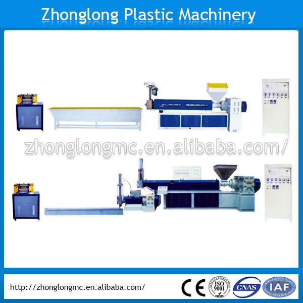 Vente chaude PP / PE déchets Machine de recyclage du plastique