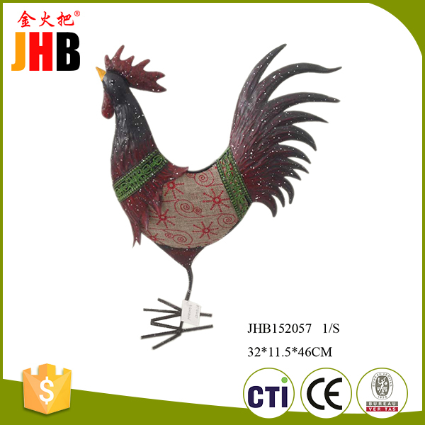 Fancy design metal table rooster best craft holiday christmas gift ideas 2016