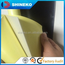 Self adhesive 1.5mm black pvc foam sheet