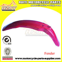 Motorcycle aluminum front and rear fender flare