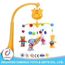 High quality cot mobile multifunctional baby bed bell with music