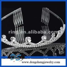 EXQUISITE maang tikka designs new glitter head crown halloween costume tiara