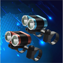 2000lm IP-65 Waterproof 6063 Aluminum Alloy LED Bicycle Bike Front Light