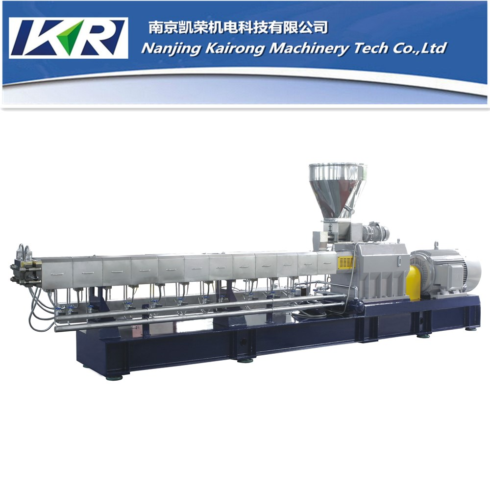 Plastic Recycling Extruder Machinery/Plastic Filler Masterbatch Making Machine/PET Bottle Recycling Plant for Sale