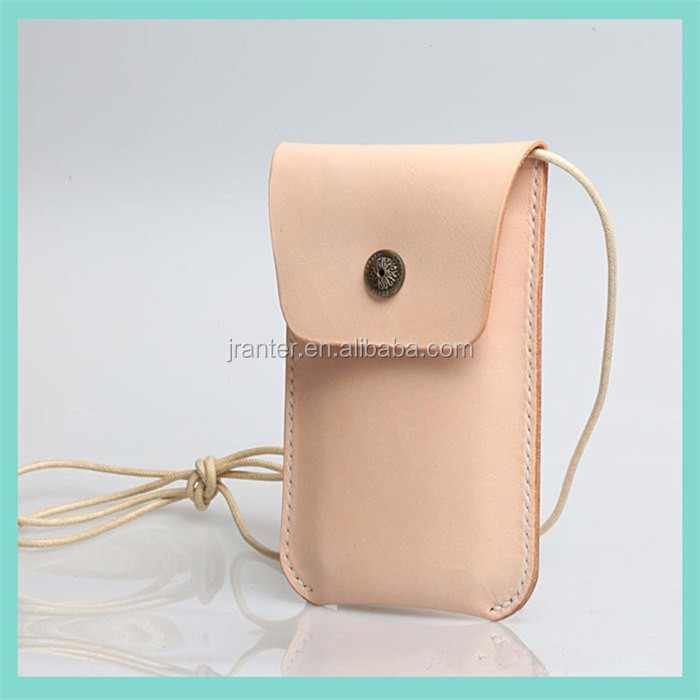 Custom Ladies with Hang Rope Leather for iPhone 6 Mobile Phone Case for iPhone 6 plus