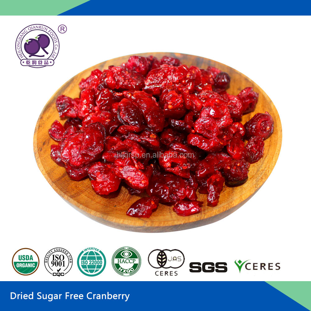 Dried Sugar-infused Cranberry Preserved Fruit