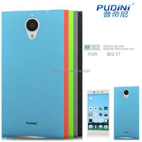 2014 PUDINI Quicksand series accept OEM mobile phone cover for gionee elife e7 case
