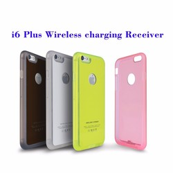 QI Wireless Charging cases Charger receiver case +Receiver For Apple iPhone 5/5S/5C/6/6S