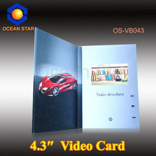 "2012 best seller, promotion video card, 2.4"" 2.8"" 3.5"" 4.3"" 7"""