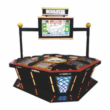 2016 Newest Coin Operated Luxury Electronic Roulette Game Machine for Sale