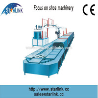 Wenzhou Starlink Patent PU TPU Loop-line 60 STATION 19M shoe sole mould making machines