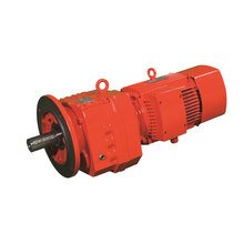 Helical gearbox motor R67 type gearmotor speed reducer