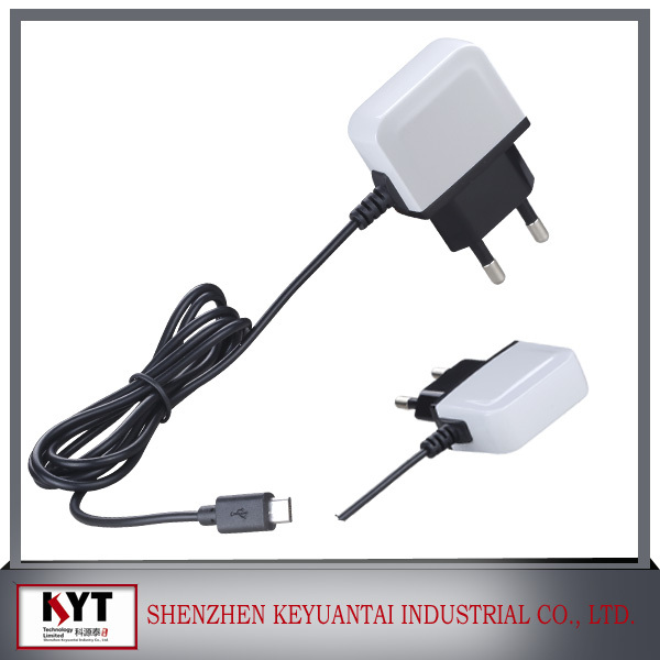 High quality 5v1a usb power adapter 5v power adapter with ce,fcc,rohs ,kc for mobile phones