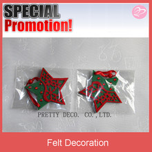 Wholesale Felt christmas star wall decor