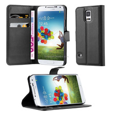 Premium Wallet Leather Moblie Phone Case Cover for Samsung Galaxy S5