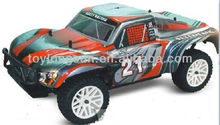 new products 2.4G 4WD HSP 1/10 scale electric power SHORT COURSE truck