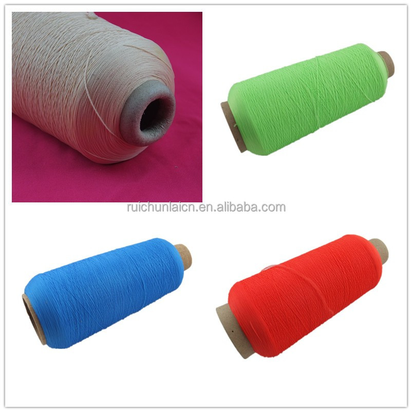 Multifuctional high quality 100% dacron aramid polyester customized elastic yarn