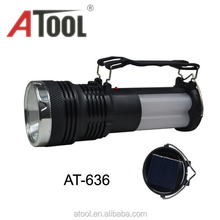 Atool 1w+3w LED solar lanterns rechargeable solar torch camping lantern dry battery flashlight