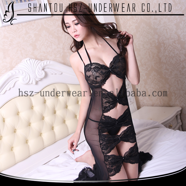 New design sexy nighty girl hot sale lingerie sexy high quality ladies first night sexy dresses