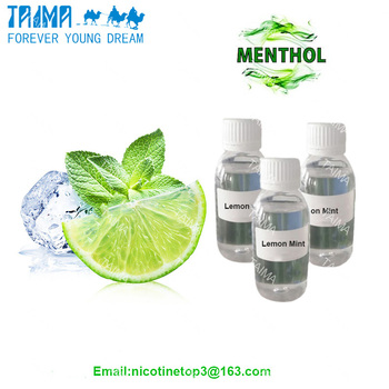 Lemon mint flavoring agents vape liquid flavor