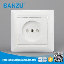 Manufacture Russian 1 gang electric wall socket outlet