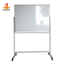 ceramic magnetic white board with wheels