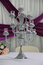 IDA wedding decoration floor standing candle holders/tall floor candle holders match candle(IDACH03)