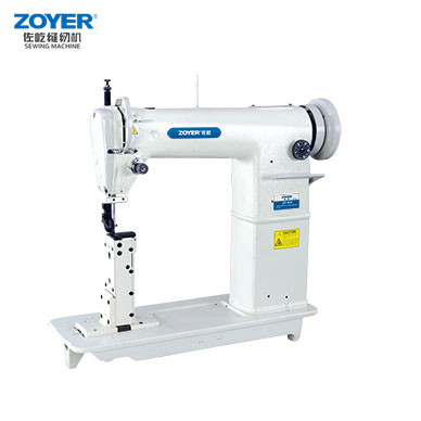 ZY810 Zoyer Golden Wheel Single Needle Post-Bed industrial Sewing Machine