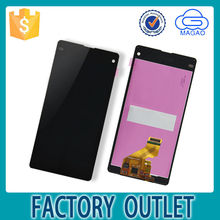 100% New and Original for sony xperia z1 compact d5503 lcd digitizer assembly, for sony xperia z1 compact d5803 display