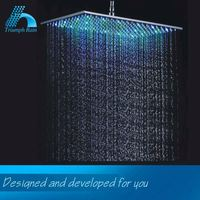 Premium Quality Competitive Price 7 Color Led Shower Head Bathroom Accessories